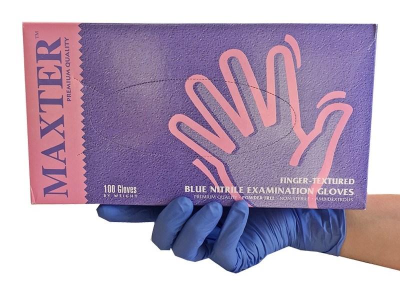 guanti-monouso-100-nitrile-cobalto-blu-senza-talco-antivirus-premiun-quality-maxter